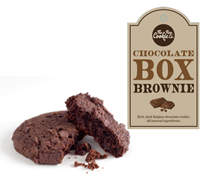 CHOCOLATE BOX BROWNIE